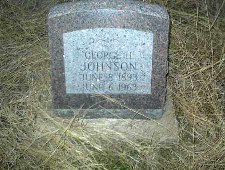 JOHNSON, GEORGE H. - Nowata County, Oklahoma   GEORGE H. JOHNSON - Oklahoma Gravestone Photos
