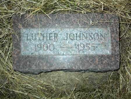 JOHNSON, LUTHER - Nowata County, Oklahoma | LUTHER JOHNSON - Oklahoma Gravestone Photos