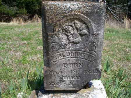 JOHNSON, S. M. - Nowata County, Oklahoma | S. M. JOHNSON - Oklahoma Gravestone Photos