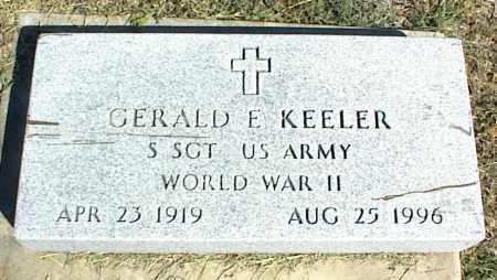 KEELER (VETERAN WWII), GERALD E. - Nowata County, Oklahoma   GERALD E. KEELER (VETERAN WWII) - Oklahoma Gravestone Photos