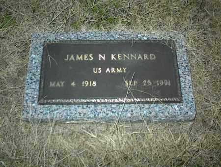 KENNARD (VETERAN), JAMES N. - Nowata County, Oklahoma | JAMES N. KENNARD (VETERAN) - Oklahoma Gravestone Photos
