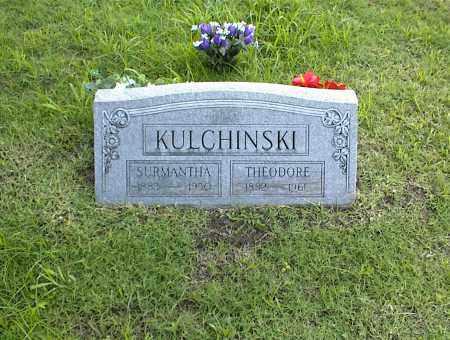 KULCHINSKI, SURMANTHA - Nowata County, Oklahoma | SURMANTHA KULCHINSKI - Oklahoma Gravestone Photos