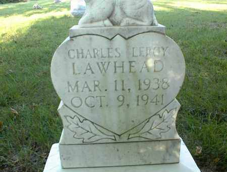 LAWHEAD, CHARLES LEROY - Nowata County, Oklahoma | CHARLES LEROY LAWHEAD - Oklahoma Gravestone Photos