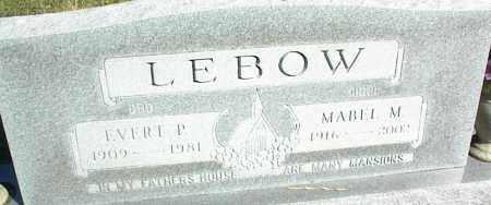 LEBOW, MABEL M. - Nowata County, Oklahoma   MABEL M. LEBOW - Oklahoma Gravestone Photos