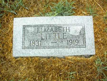 LITTLE, ELIZABETH - Nowata County, Oklahoma | ELIZABETH LITTLE - Oklahoma Gravestone Photos