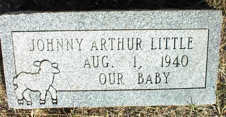 LITTLE, JOHNNY ARTHUR - Nowata County, Oklahoma | JOHNNY ARTHUR LITTLE - Oklahoma Gravestone Photos