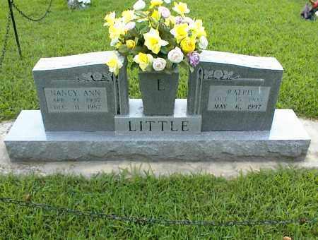 LITTLE, NANCY ANN - Nowata County, Oklahoma | NANCY ANN LITTLE - Oklahoma Gravestone Photos