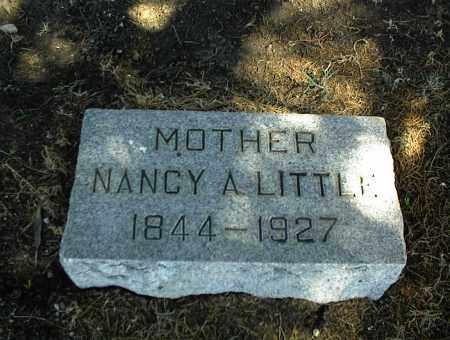 LITTLE, NANCY A. - Nowata County, Oklahoma | NANCY A. LITTLE - Oklahoma Gravestone Photos
