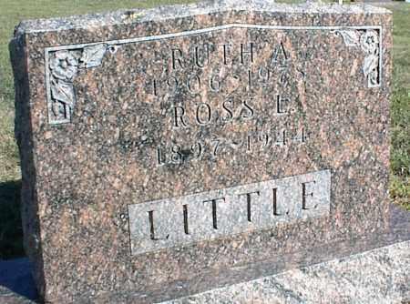 LITTLE, RUTH A. - Nowata County, Oklahoma | RUTH A. LITTLE - Oklahoma Gravestone Photos