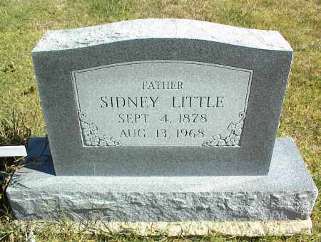 LITTLE, SIDNEY - Nowata County, Oklahoma   SIDNEY LITTLE - Oklahoma Gravestone Photos