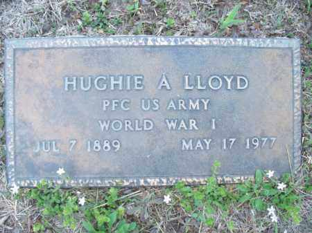 LLOYD (VETERAN WWI), HUGHIE A. - Nowata County, Oklahoma | HUGHIE A. LLOYD (VETERAN WWI) - Oklahoma Gravestone Photos