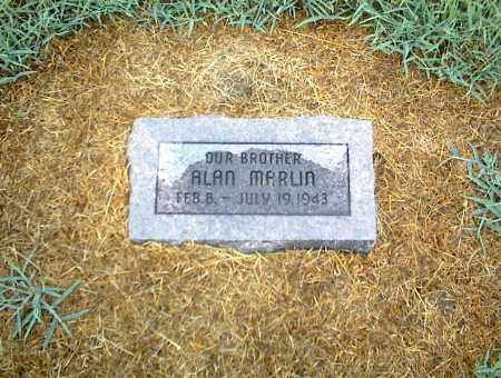 MARLIN, ALAN - Nowata County, Oklahoma | ALAN MARLIN - Oklahoma Gravestone Photos