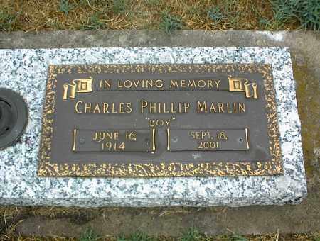 MARLIN, CHARLES PHILLIP - Nowata County, Oklahoma   CHARLES PHILLIP MARLIN - Oklahoma Gravestone Photos