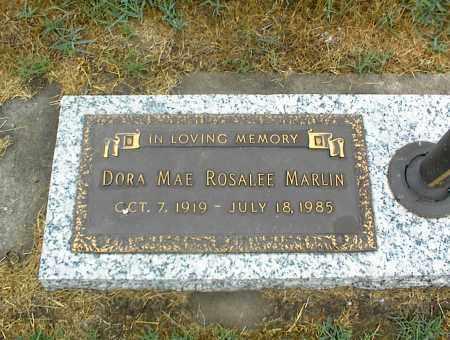 MARLIN, DORA MAE ROSALEE - Nowata County, Oklahoma | DORA MAE ROSALEE MARLIN - Oklahoma Gravestone Photos