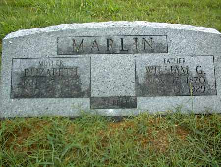 MARLIN, WILLIAM G. - Nowata County, Oklahoma | WILLIAM G. MARLIN - Oklahoma Gravestone Photos