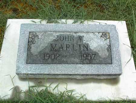 MARLIN, JOHN W. - Nowata County, Oklahoma | JOHN W. MARLIN - Oklahoma Gravestone Photos
