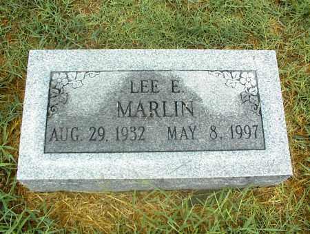 MARLIN, LEE E. - Nowata County, Oklahoma | LEE E. MARLIN - Oklahoma Gravestone Photos