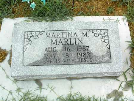 MARLIN, MARTINA M. - Nowata County, Oklahoma | MARTINA M. MARLIN - Oklahoma Gravestone Photos