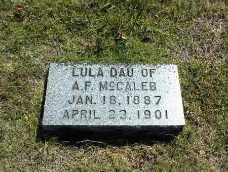 MCCALEB, LULA - Nowata County, Oklahoma   LULA MCCALEB - Oklahoma Gravestone Photos