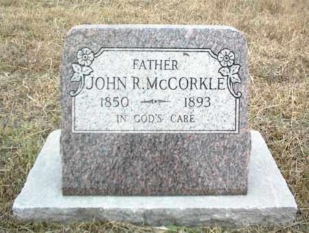 MCCORKLE, JOHN R. - Nowata County, Oklahoma | JOHN R. MCCORKLE - Oklahoma Gravestone Photos
