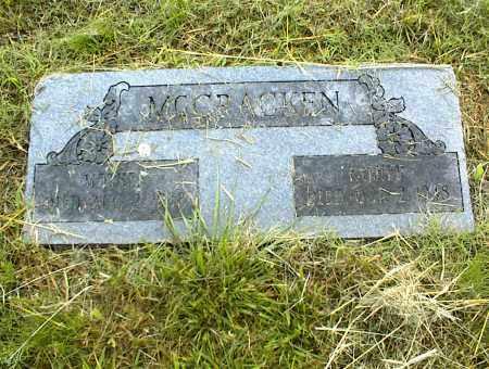 MCCRACKEN, MOTHER - Nowata County, Oklahoma | MOTHER MCCRACKEN - Oklahoma Gravestone Photos