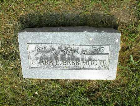 MOORE, CLARA E. - Nowata County, Oklahoma | CLARA E. MOORE - Oklahoma Gravestone Photos