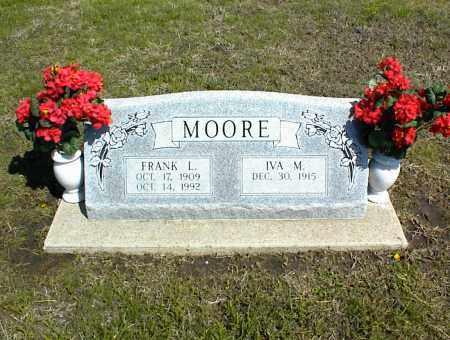 MOORE, FRANK L. - Nowata County, Oklahoma | FRANK L. MOORE - Oklahoma Gravestone Photos