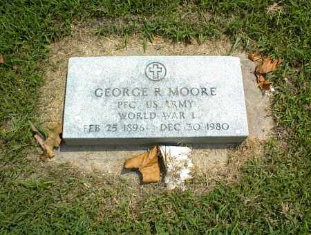 MOORE (VETERAN WWI), GEORGE R. - Nowata County, Oklahoma | GEORGE R. MOORE (VETERAN WWI) - Oklahoma Gravestone Photos