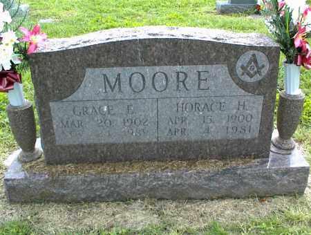 MOORE, HORACE H. - Nowata County, Oklahoma | HORACE H. MOORE - Oklahoma Gravestone Photos