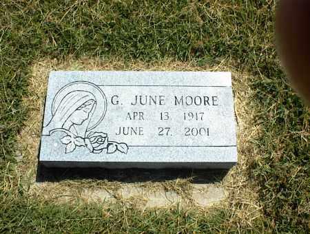 MOORE, G. JUNE - Nowata County, Oklahoma | G. JUNE MOORE - Oklahoma Gravestone Photos