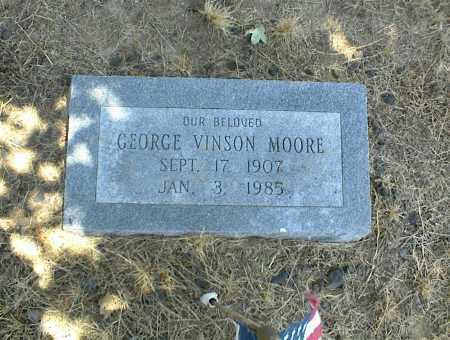 MOORE, GEORGE VINSON - Nowata County, Oklahoma | GEORGE VINSON MOORE - Oklahoma Gravestone Photos