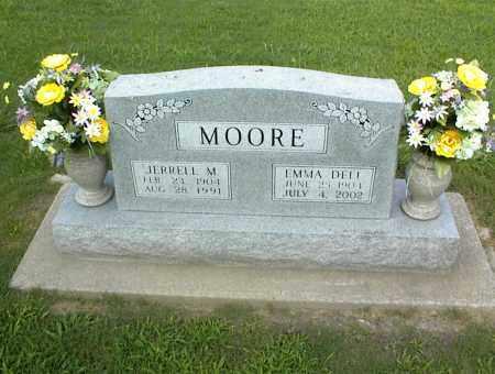 MOORE, JERRELL M. - Nowata County, Oklahoma | JERRELL M. MOORE - Oklahoma Gravestone Photos
