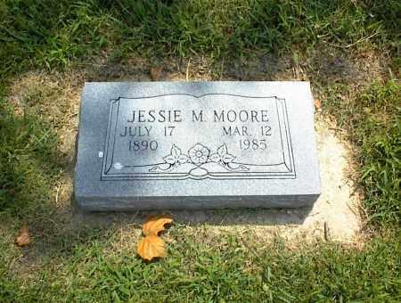 MOORE, JESSIE M. - Nowata County, Oklahoma | JESSIE M. MOORE - Oklahoma Gravestone Photos