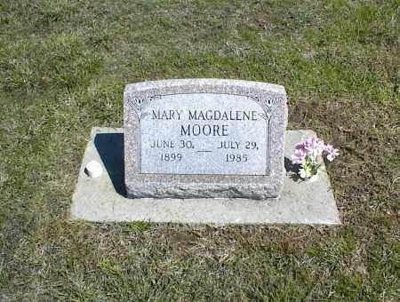 MOORE, MARY MAGDALENE - Nowata County, Oklahoma   MARY MAGDALENE MOORE - Oklahoma Gravestone Photos