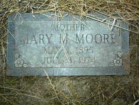 MOORE, MARY M. - Nowata County, Oklahoma | MARY M. MOORE - Oklahoma Gravestone Photos