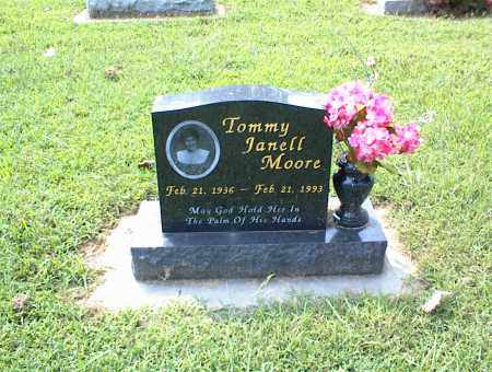 MOORE, TOMMY JANELL - Nowata County, Oklahoma | TOMMY JANELL MOORE - Oklahoma Gravestone Photos