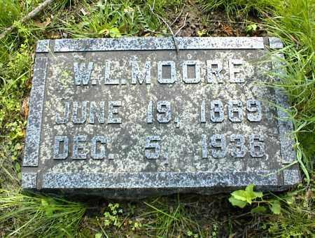 MOORE, W. L. - Nowata County, Oklahoma | W. L. MOORE - Oklahoma Gravestone Photos