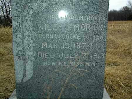 MORRIS, WILEY S. - Nowata County, Oklahoma | WILEY S. MORRIS - Oklahoma Gravestone Photos