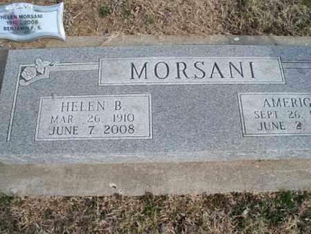 MORSANI, HELEN B. - Nowata County, Oklahoma   HELEN B. MORSANI - Oklahoma Gravestone Photos