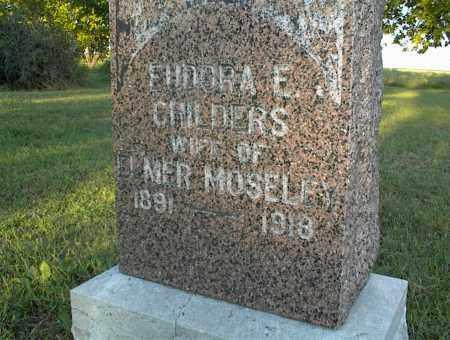 MOSELEY, EUDORA E. - Nowata County, Oklahoma | EUDORA E. MOSELEY - Oklahoma Gravestone Photos