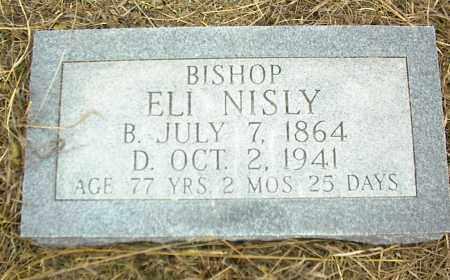 NISLY, BISHOP ELI NISLY - Nowata County, Oklahoma | BISHOP ELI NISLY NISLY - Oklahoma Gravestone Photos