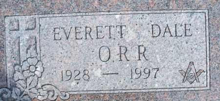 ORR, EVERETT DALE - Nowata County, Oklahoma | EVERETT DALE ORR - Oklahoma Gravestone Photos