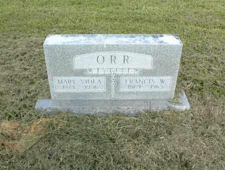 ORR, MARY VIOLA - Nowata County, Oklahoma | MARY VIOLA ORR - Oklahoma Gravestone Photos