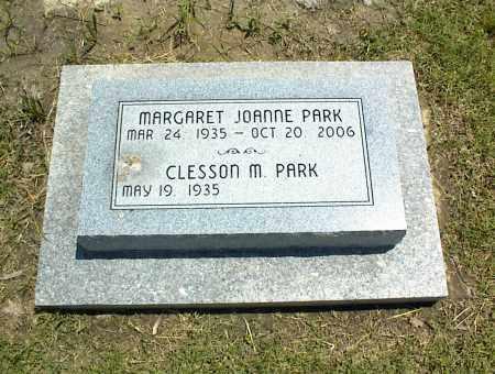 PARK, MARGARET JOANNE - Nowata County, Oklahoma | MARGARET JOANNE PARK - Oklahoma Gravestone Photos