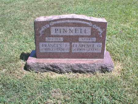 PINNELL, FRANCES J. - Nowata County, Oklahoma | FRANCES J. PINNELL - Oklahoma Gravestone Photos