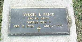 PRICE (VETERAN WWII), VIRGIL L - Nowata County, Oklahoma | VIRGIL L PRICE (VETERAN WWII) - Oklahoma Gravestone Photos