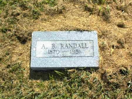 RANDALL, A. B. - Nowata County, Oklahoma | A. B. RANDALL - Oklahoma Gravestone Photos