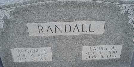 RANDALL, ARTHUR S. - Nowata County, Oklahoma   ARTHUR S. RANDALL - Oklahoma Gravestone Photos