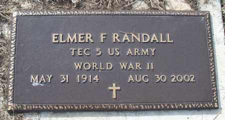 RANDALL, ELMER F. - Nowata County, Oklahoma | ELMER F. RANDALL - Oklahoma Gravestone Photos