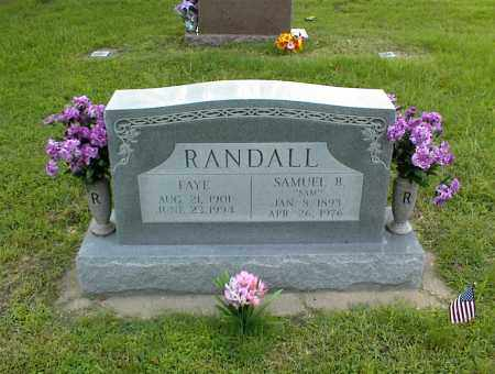 RANDALL, FAYE - Nowata County, Oklahoma | FAYE RANDALL - Oklahoma Gravestone Photos